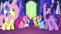 Mane 6 singing together S4E26