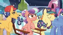 Pin Pony touches his tear S6E2