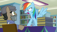 """Rainbow """"up to your old tricks again"""" S9E21"""