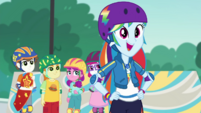 """Rainbow Dash """"bust out of that shell"""" EGDS32"""