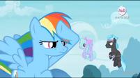 Rainbow Dash on vigil EW Promotional Teaser