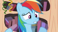 Rainbow Dash sweating S4E04