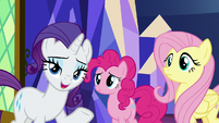 "Rarity ""certain we can win them over"" S8E2"