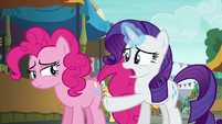 """Rarity """"you absolutely love that cannon!"""" S6E3"""