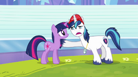 """Shining Armor """"everything's gonna be okay"""" S03E12"""