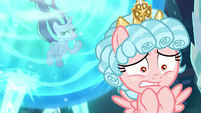 Starlight rolls her eyes at Cozy Glow S8E26