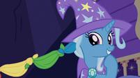 Trixie giggling at Sunburst's magic trick S7E24