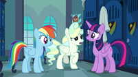 """Vapor Trail """"a little gust of wind there"""" S6E24"""