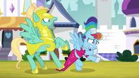 Zephyr pleased by Rainbow's forwardness S9E4