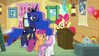 """Apple Bloom """"just because she isn't a Crusader"""" S5E4"""