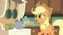 "Applejack ""I'm sure there's plenty apples"" S4E18"