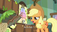 """Applejack """"you haven't hunted for"""" S9E10"""