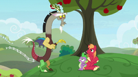 Big Mac hides the ring from Discord S9E23
