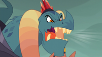 "Dragon Lord Torch shouts ""Dragons of Equestria"" S6E5"