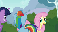 """Fluttershy """"creatures known as Breezies"""" S4E16"""