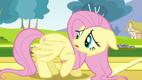 Fluttershy check her wings S2E22
