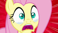 Fluttershy welling up with tears S4E03