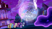 Princess Luna utterly exhausted S5E13