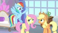 """Rainbow Dash """"teach us!"""" MLPS3"""