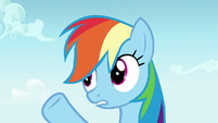 """Rainbow Dash """"working and napping"""" S7E14"""