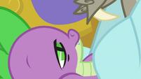 Spike slowly waking up S5E7