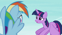 "Twilight ""that doesn't mean you shouldn't be studying for yours!"" S4E21"
