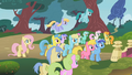 640px-The ponies listen to Twilight S1E07