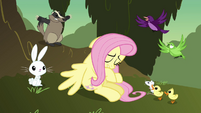 Animals trying to convince Fluttershy S2E22