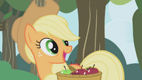 """Applejack """"what you wanna talk about?"""" S1E04"""