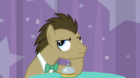 Dr. Hooves looking annoyed S9E16