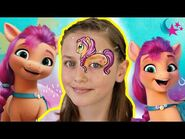 My Little Pony Kids Makeup Collection 🎨 Sunny Face Painting - MLP New G5 Movie - MLP Makeup