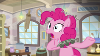 Pinkie Pie stunned by Mudbriar's waste of time S8E3
