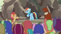 "Rainbow Dash ""I had no idea how special"" S7E18"