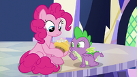 "Spike ""are you sure this is edible?"" S9E14"