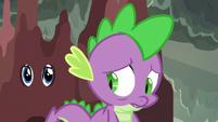 Spike looking sad S6E5