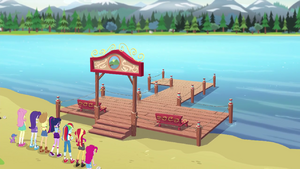 The Camp Everfree dock is repaired again EG4.png