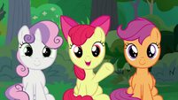 "Apple Bloom ""that's how we were responsible"" S9E23"