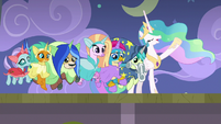 """Celestia """"throw off that musty hat"""" S8E7"""