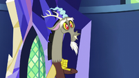 Discord with puppy dog eyes S5E22