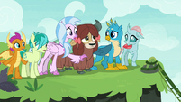 Gallus' friends shocked by his suggestion S8E9