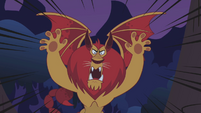 Manticore intimidating roar S01E02