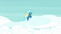 Misty Fly left alone in the sky S9E13