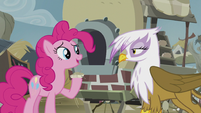 "Pinkie ""Grampa Gruff's recipe is good"" S5E8"