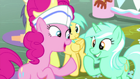 """Pinkie Pie """"commend the cookie dough!"""" MLPS5"""