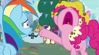 Pinkie Pie -while laughing at me!- S7E23