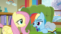 """Rainbow Dash """"Zeph was just telling me"""" S6E11"""