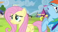 Rainbow Dash fainting S4E22