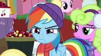 Rainbow Dash looking impatient BGES1