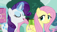 """Rarity """"dyeing fabric is the simplest thing!"""" S6E11"""