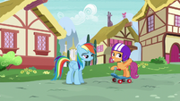 """Scootaloo """"when the Wonderbolts' new tour"""" S6E7"""